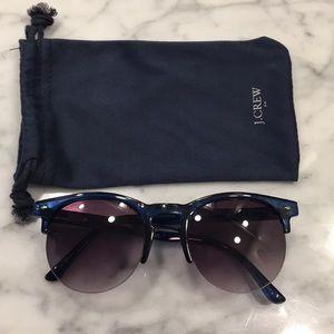 JCrew sunglasses navy blue